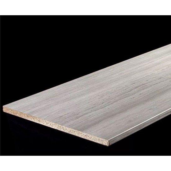 Столешница 38 мм влагостойкая декор 8345/1 Travertin grey глянец
