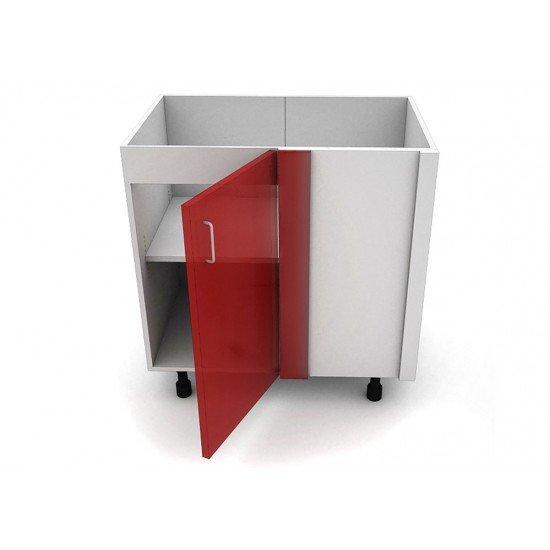 Кухонный корпус напольный угловой. Высота 820 мм, глубина 560 мм