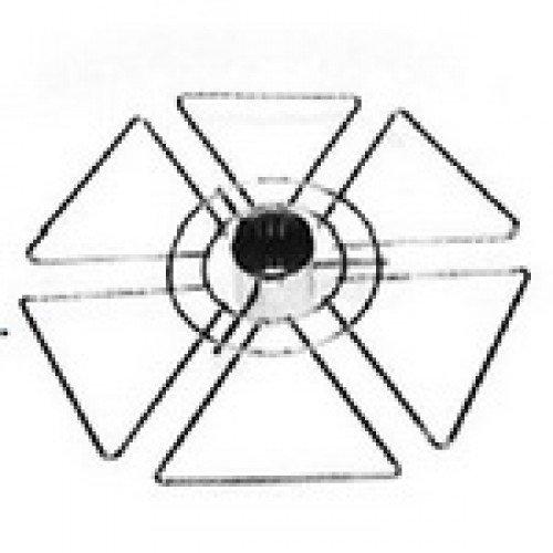 Полка для бокалов (тип 1)