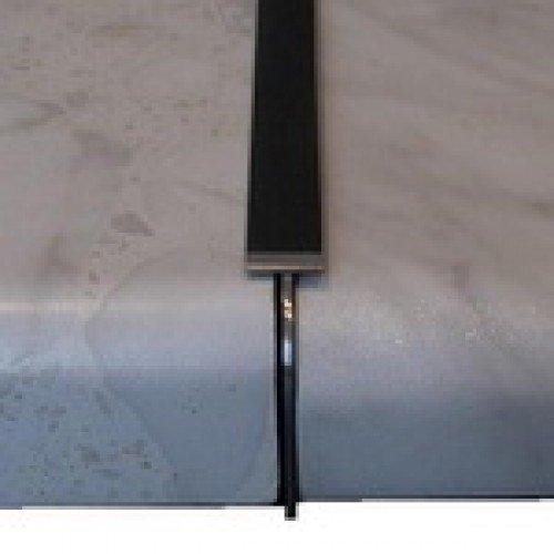Планка Соединительная с открытым завалом с матовой или глянцевой поверхностью