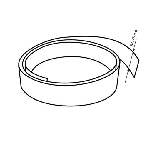 Кромочная лента без клея (вставка) 32 мм декор 4082/S Аладин