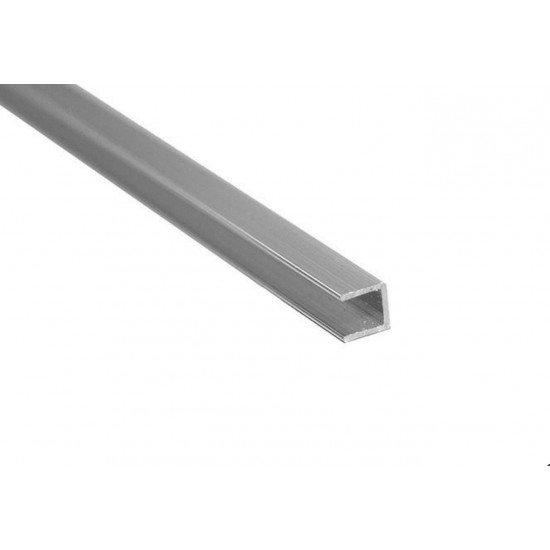 Планка торцевая для панелей, алюминий