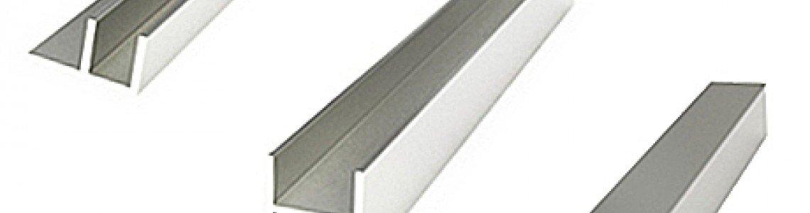 Планки для пристеночных панелей