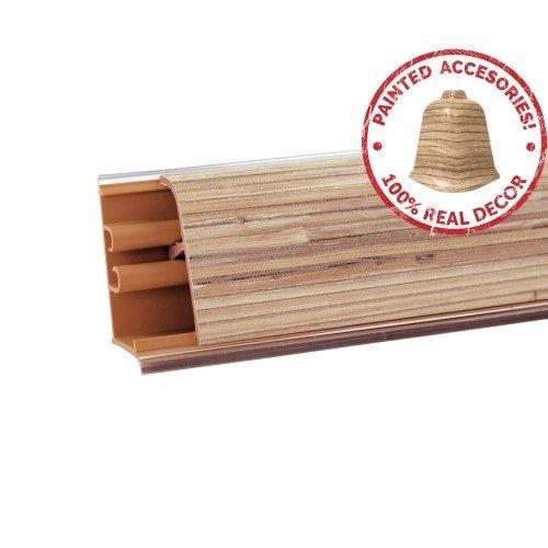 Плинтус кухонный ЛБ-37 3521 Тростник